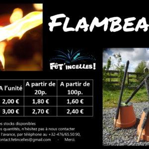 Flambeaux 45min
